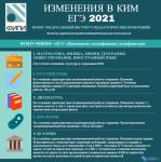 Изменения в КИМ ЕГЭ 2021 года